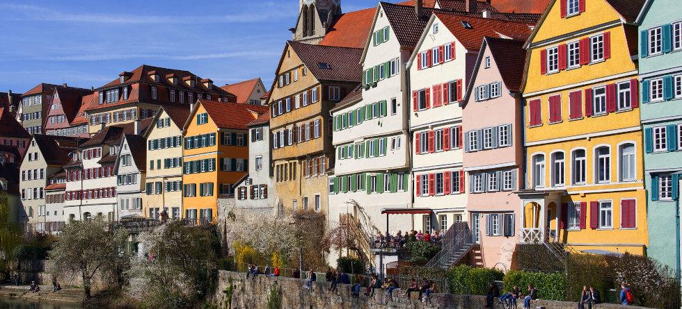 Häuser in Tübingen